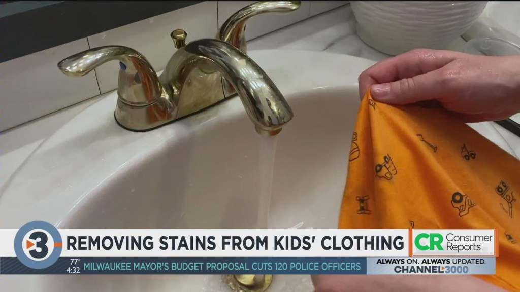 Consumer Reports: Removing Stains From Kids' Clothing