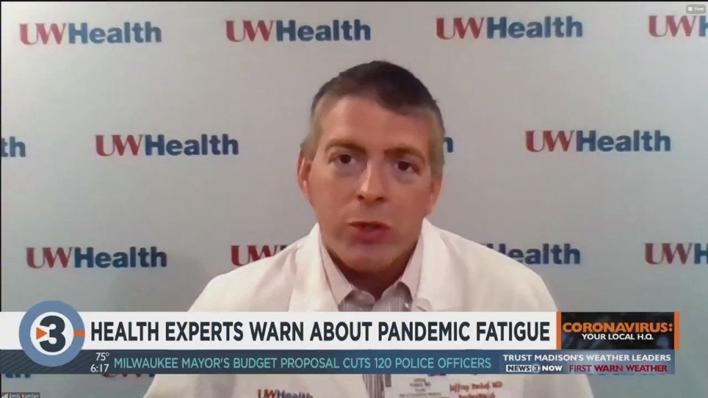 Health Experts Warn About Pandemic Fatigue
