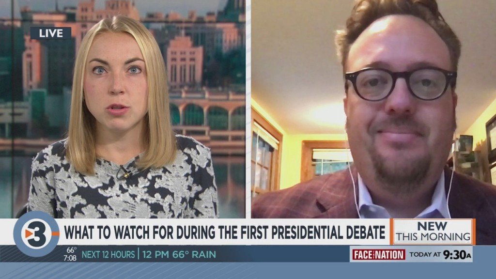 Uw Professor Explains What To Watch For During The First Presidential Debate
