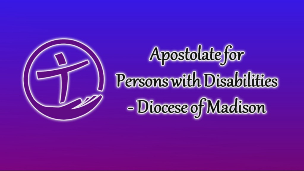 Apostolate To The Handicapped: 9/27/2020