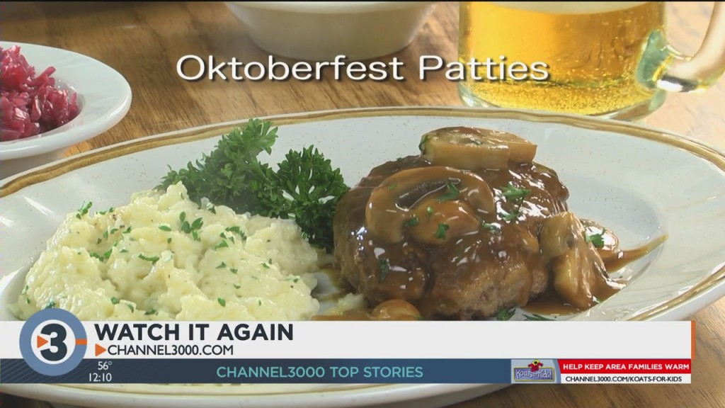 Mr. Food: Oktoberfest Patties