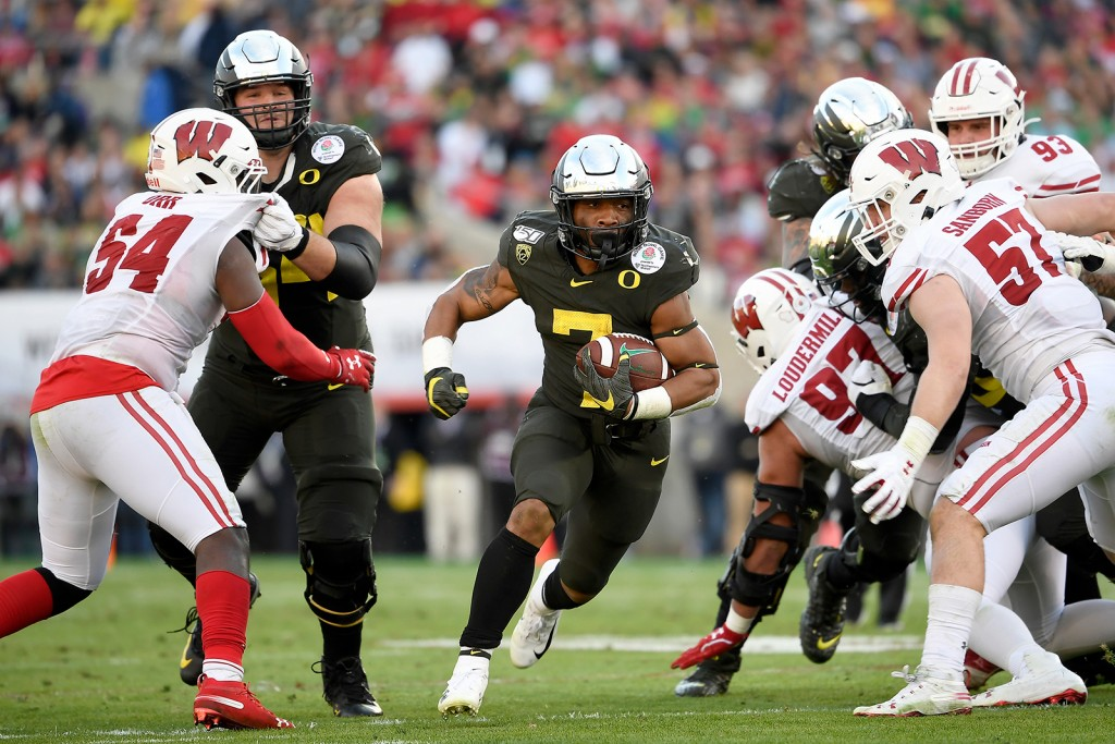 Rose Bowl Game Presented By Northwestern Mutual Oregon V Wisconsin
