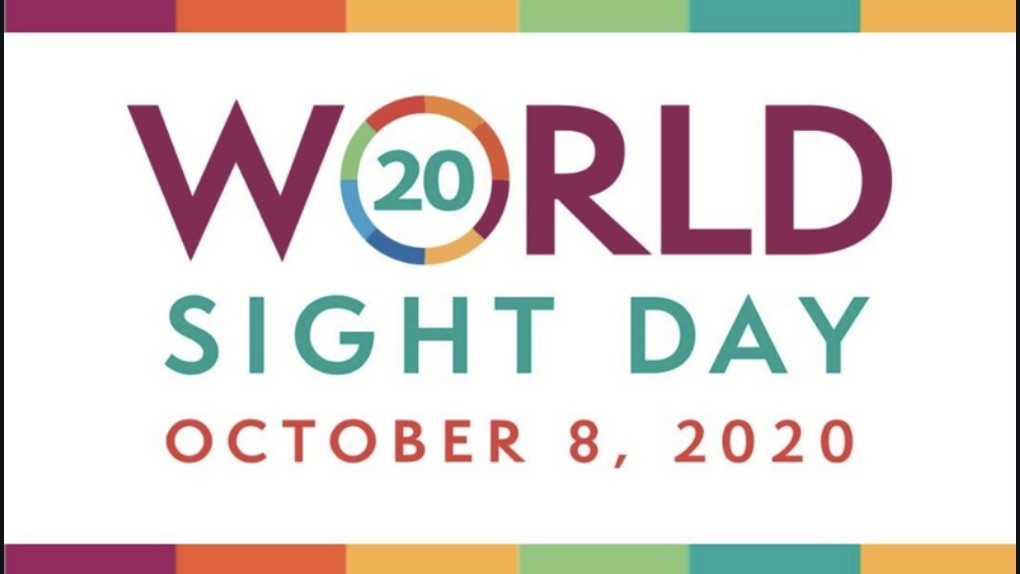 World Sight Day is on October 8