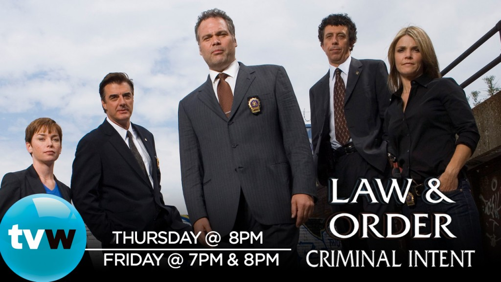 Law And Order Criminal Intent airs Thurs & Friday 2020