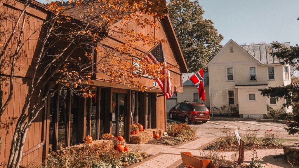 Mount Horeb Welcome Center Fall