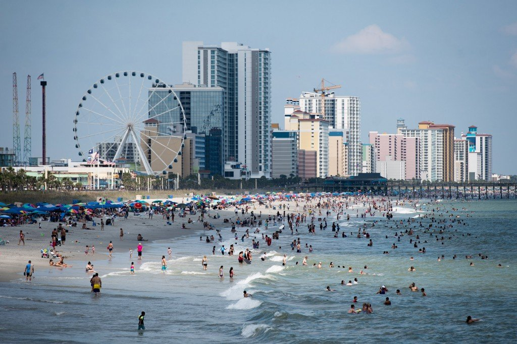 Labor Day Weekend Celebrated In Myrtle Beach, South Carolina