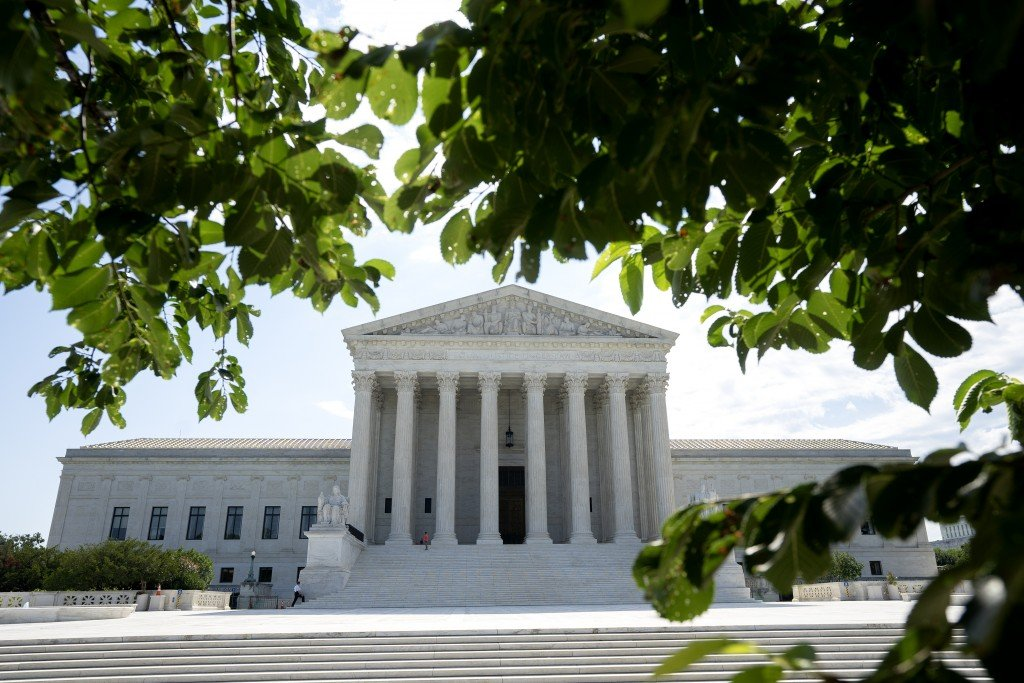 A view of the US Supreme Court building on June 30, 2020 in Washington.