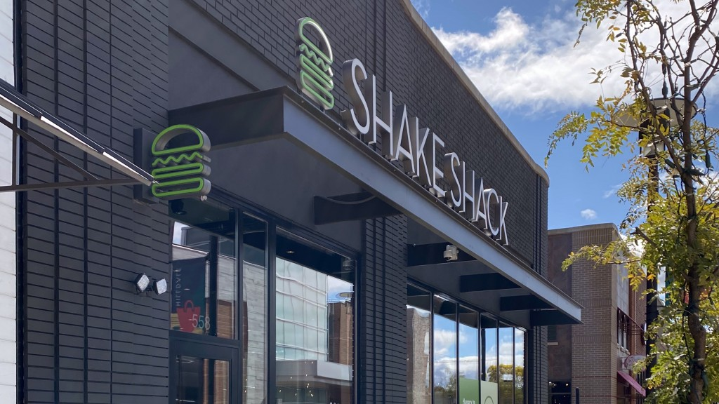 exterior of Shake Shack In Madison