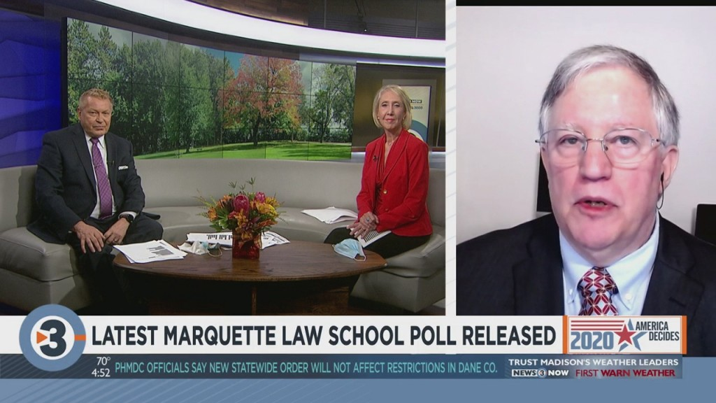 Latest Marquette Law School Poll Shows Little Change In Wisconsin Voters' Plans For Election Day