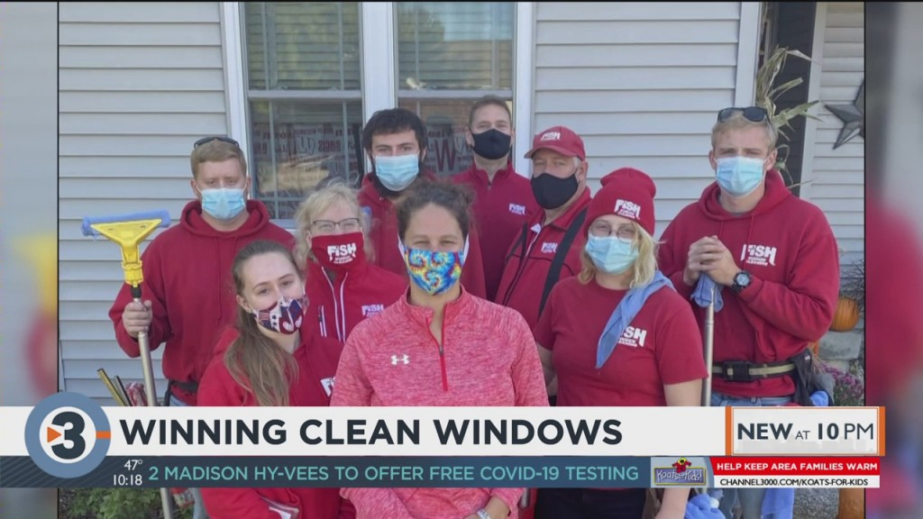 Window Cleaning Team Helps Janesville Cancer Patient At Home