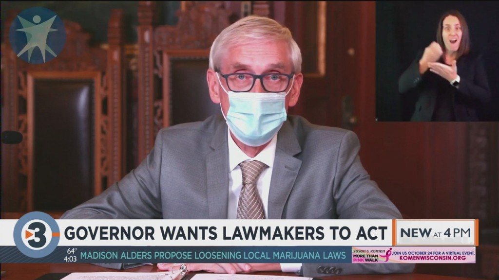 Gov. Evers Wants Republican Lawmakers To Act On Covid 19 Response