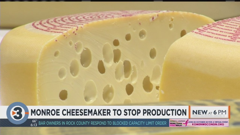 Monroe Cheesemaker To Stop Production