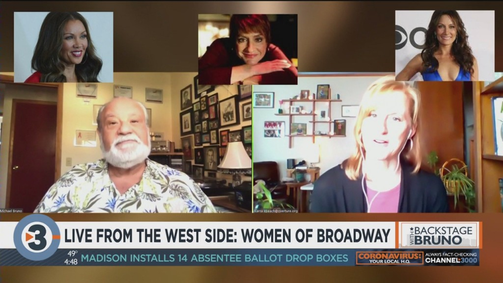 Backstage With Bruno: Women Of Broadway