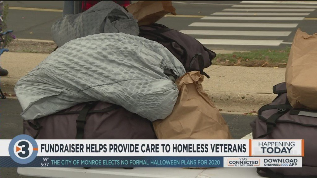 Fundraiser Helps Provide Care To Homeless Veterans