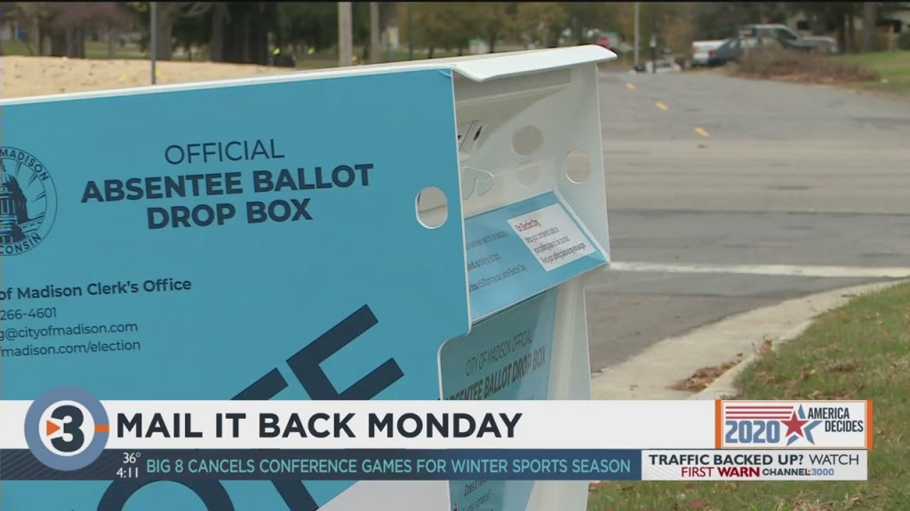 City Leaders Encourage Public To Return Absentee Ballots On 'mail It Back Monday'