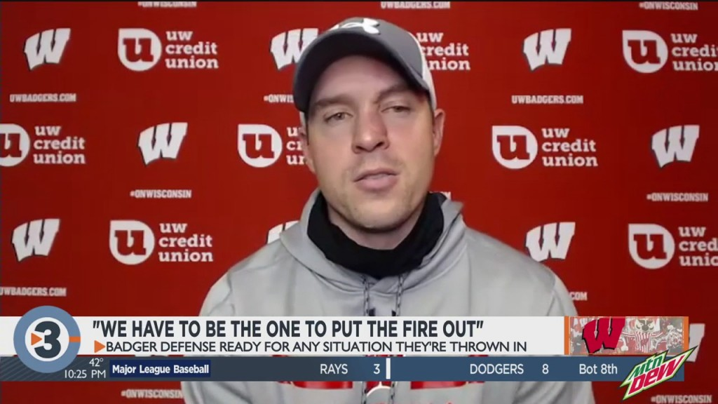 "Badger ""d"" Acts As Firefighters"