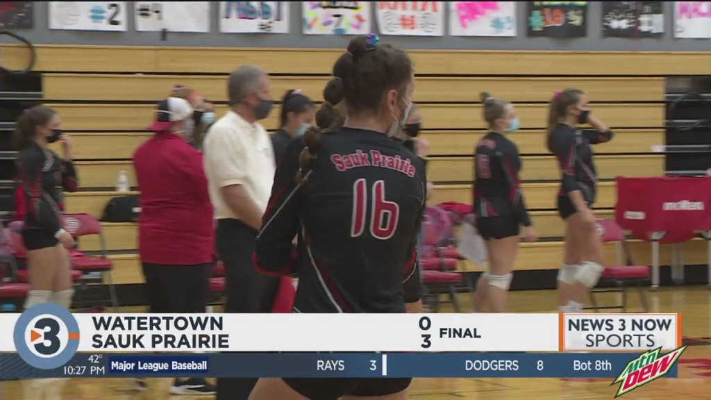 Sauk Prairie Sweeps Watertown