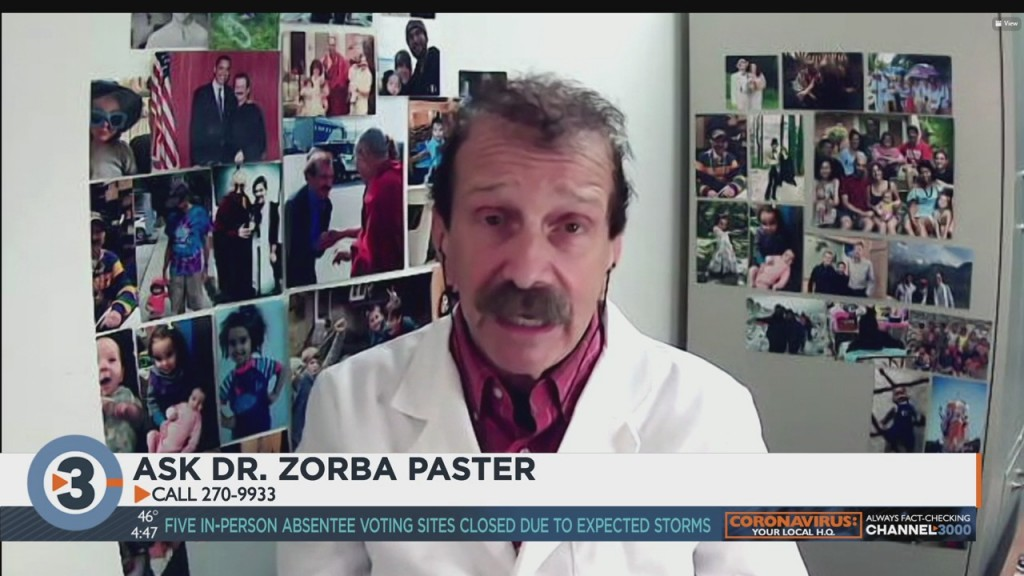 Dr. Zorba Answers Your Medical Questions
