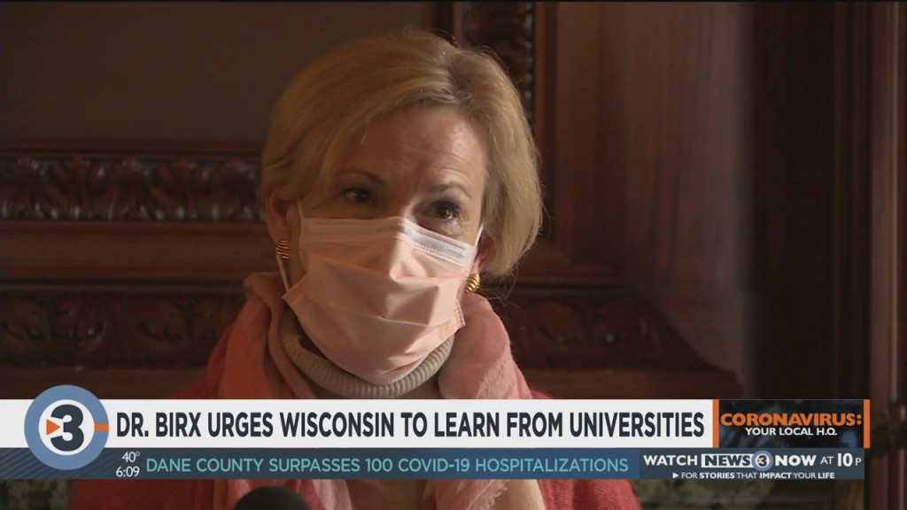 Dr. Birx Urges Wisconsin To Learn From Universities