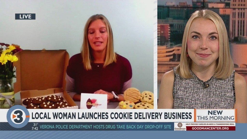 Meet The Madison Mom Delivering Warm Cookies To Strangers Amid Pandemic