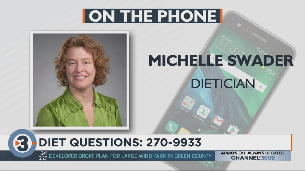 Michelle Swader Answers Your Nutrition Questions Live On Air