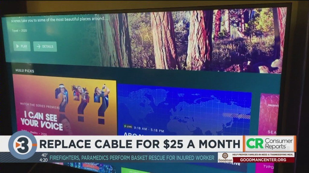 Consumer Reports: Replace Cable For $25 A Month