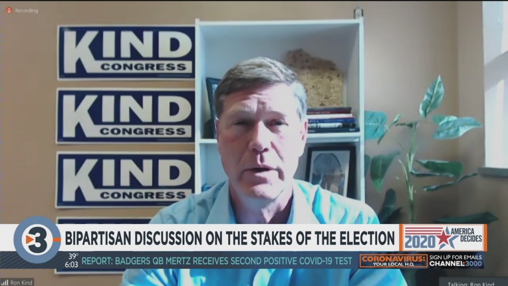 Ron Kind Participates In Bipartisan Discussion On Stakes Of Election