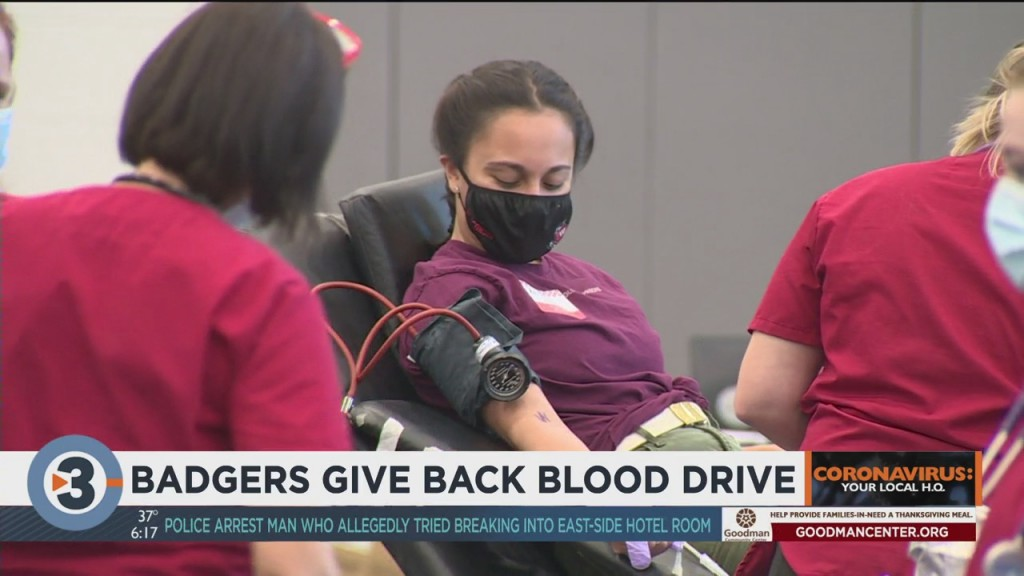 Uw Madison Students Set Up Blood Drive In Effort To Help Hospitalized Covid 19 Patients