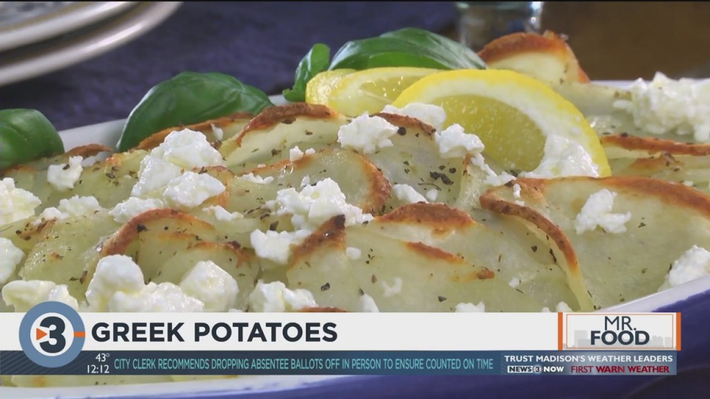 Mr. Food: Greek Potatoes