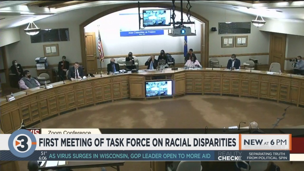 Task Force On Racial Disparities Holds First Meeting