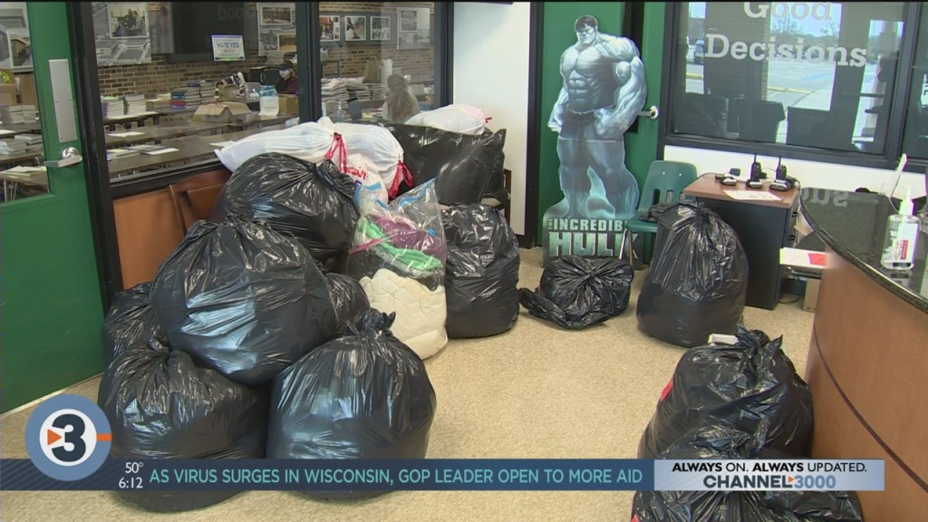 Superhero Club Hosts Coat Drive For The Beacon
