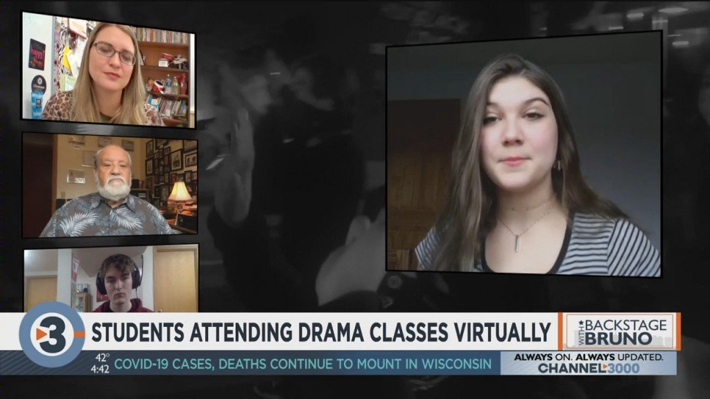 Backstage With Bruno: Students Attending Drama Classes Virtually