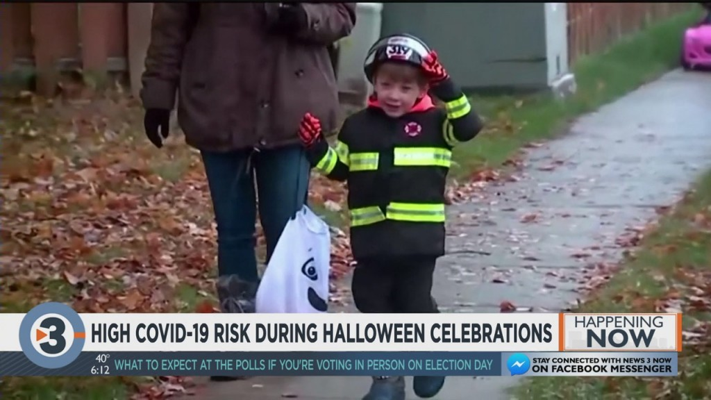 High Covid 19 Risk During Halloween Celebrations