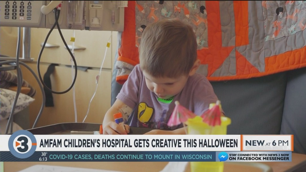American Family Children's Hospital Gets Creative This Halloween