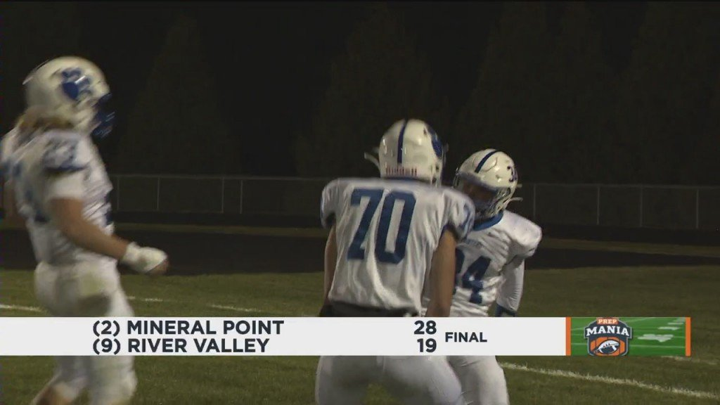 Mineral Point Beats River Valley 28 19