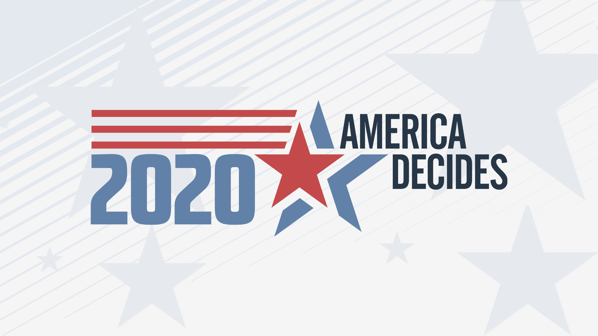 A 2020 Election Day graphic from News 3 Now