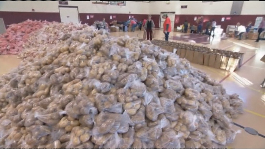 The Goodman Community Center says it expects higher demand for their Thanksgiving baskets this year.