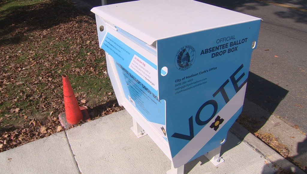 Madison Absentee Ballot Box