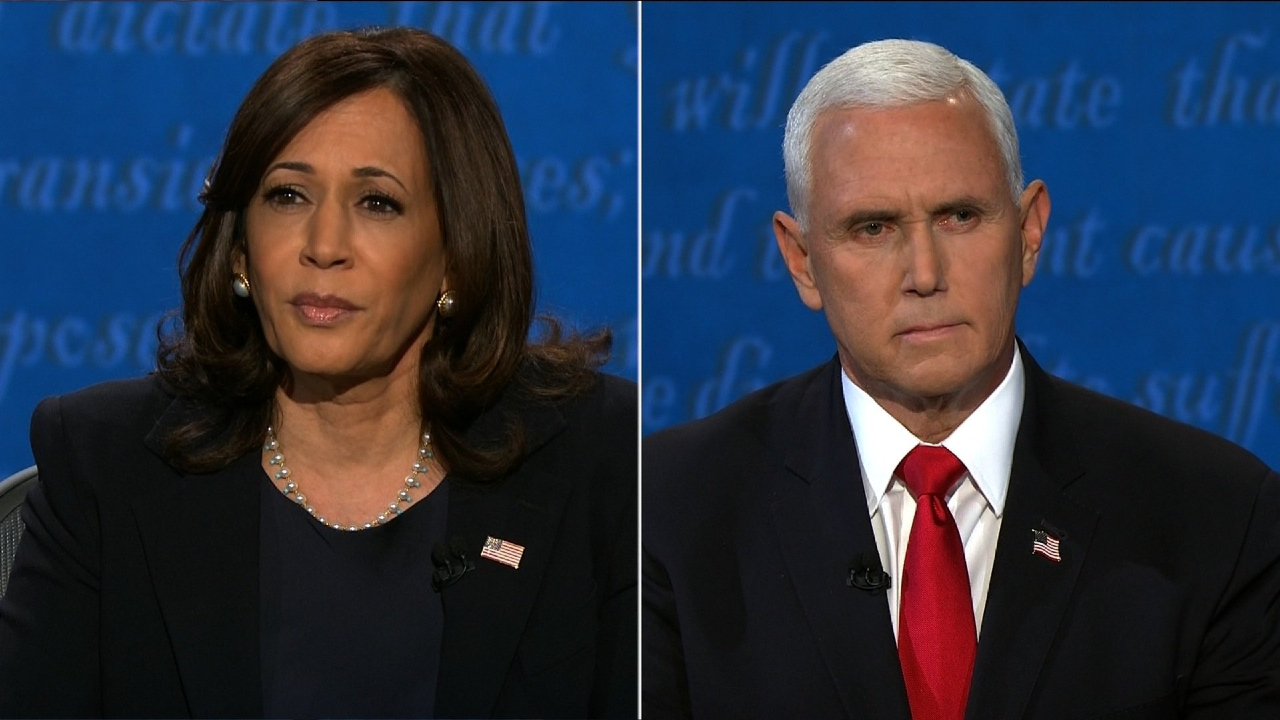Kamala Harris Rips Trump Administration S Response To Coronavirus Pandemic In Only Debate With Mike Pence
