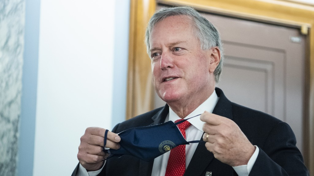 Mark Meadows, White House chief of staff