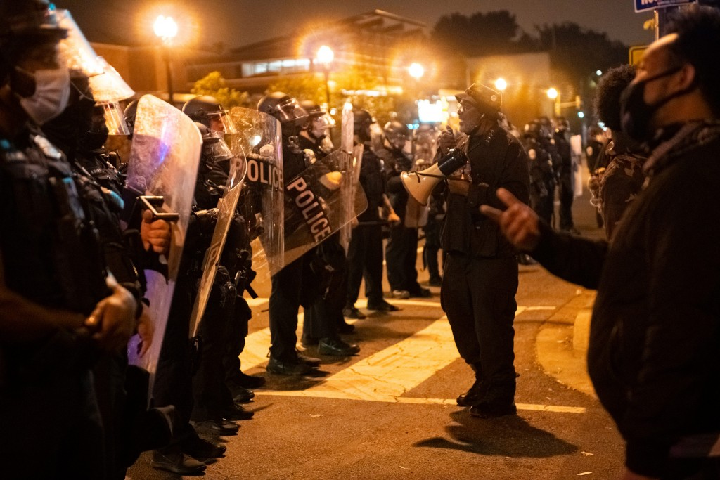 Dc: Police Crackdown On Unruly Protests