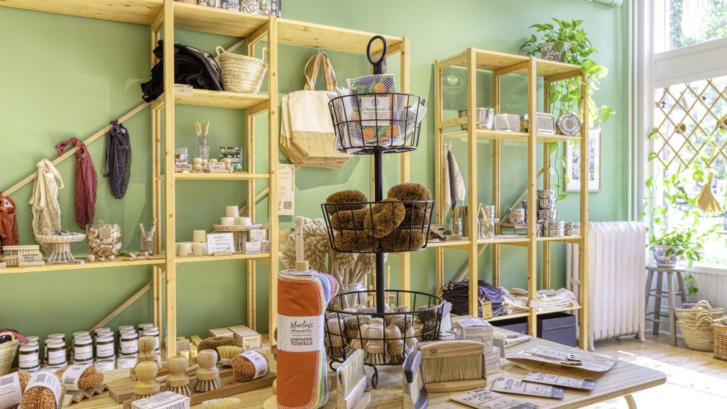 Interior Of Green Life Trading Co