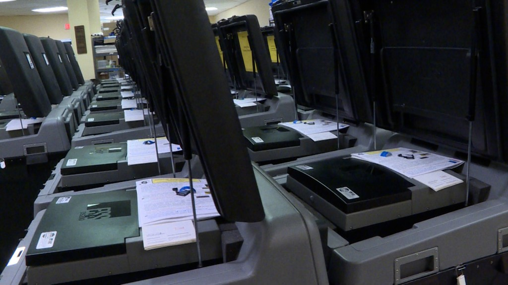 Madison Voting Machines
