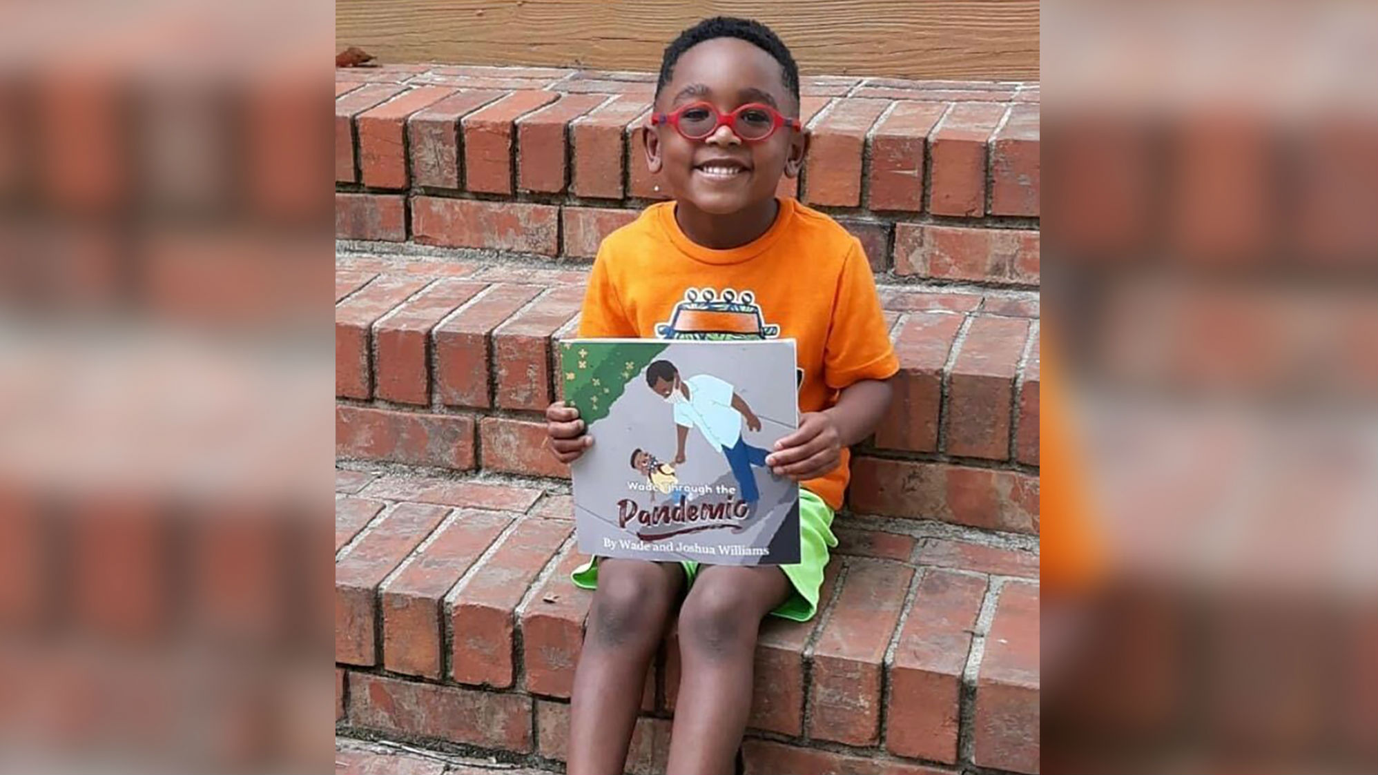 This 5-year-old wrote a book to help kids battle the stress of the coronavirus pandemic