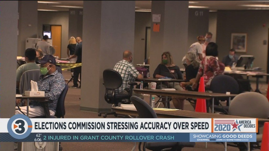 Elections Commission Stressing Accuracy Over Speed