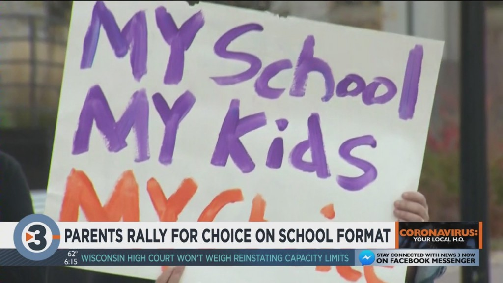Parents Rally For Choice On School Format
