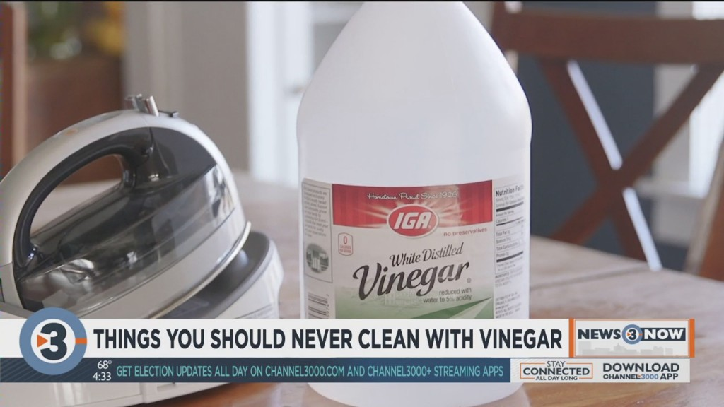 Consumer Reports: Things You Should Never Clean With Vinegar