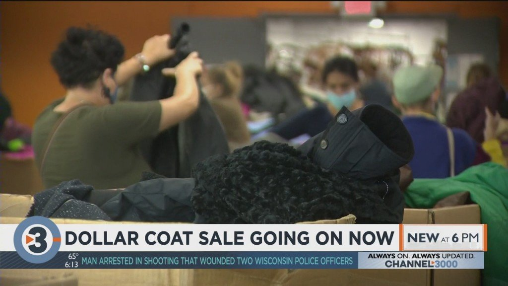 Dollar Coat Sale Going On Now
