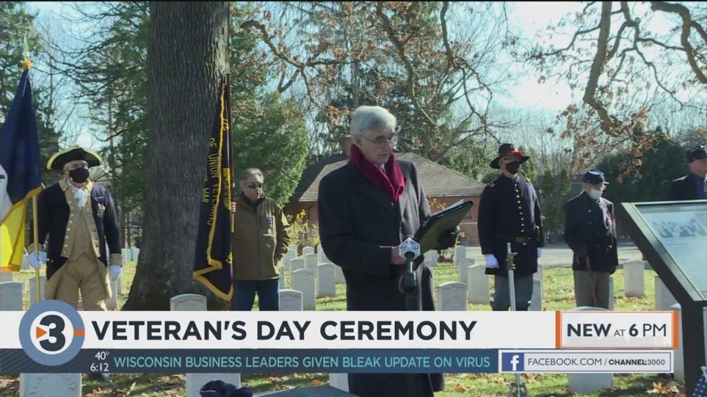 Sons Of Union Veterans Hold Veterans Day Ceremony