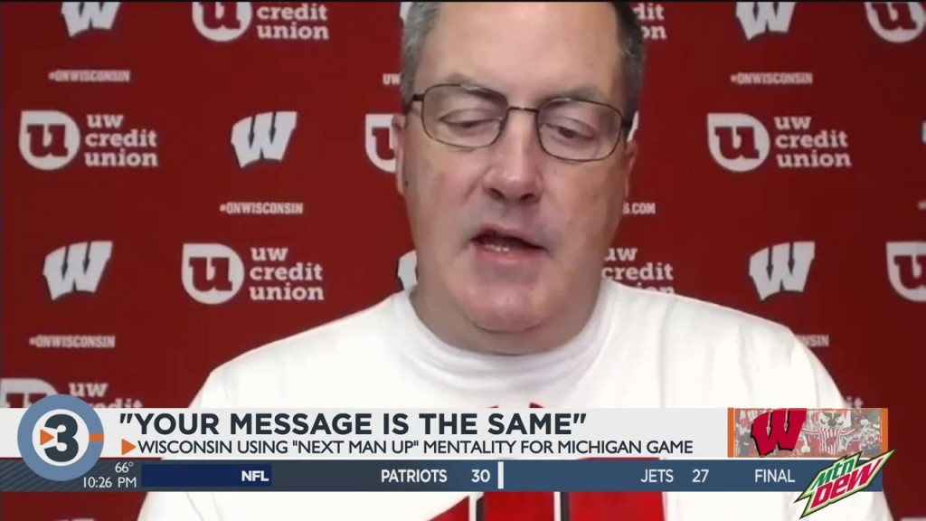 Next Man Up For Badgers